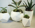 Geometrix Shaped Planters