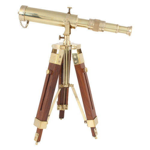 Natural Finish piru Antique Telescope