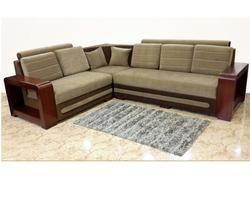 Wooden Frame Corner Sofa, Corner Sofa   Verukkshaa Furniture U0026 Doors,  Tiruchirappalli | ID: 14984142973