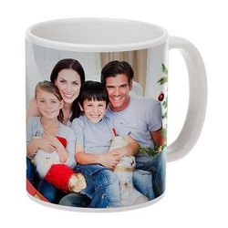 Ceramic Sublimation Coffee Mug, Capacity: 350ml, Packaging Type: Box