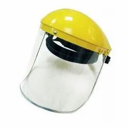 Face Visor with Helmet