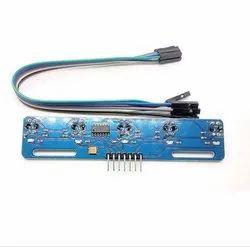 Robocraze TCTRT5000 5 Channel IR Infrared Line Detection Module- 5 IR Line Follower Sensor