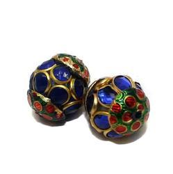 Pacchi Rondelle Beads For Ethnic Jewellery, Size: 15mm-30mm