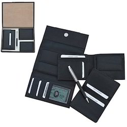 Ladies & Gents Wallet Gift Set