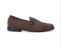 Duke And Dexter Brown Suede Loafers