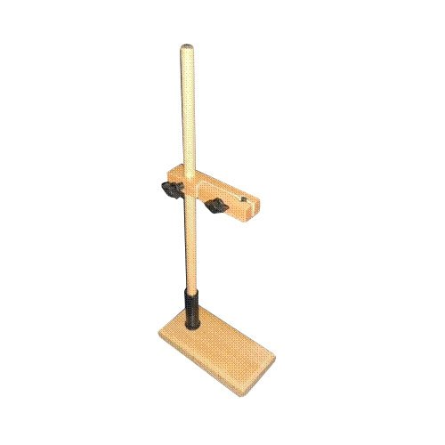 Burette Stand Single Made of Seasoned Hardwood