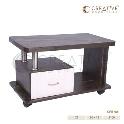 Square Wooden Center Table for Home