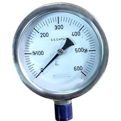 Stainless Steel Capsule Operated Low Range Pressure Gauge
