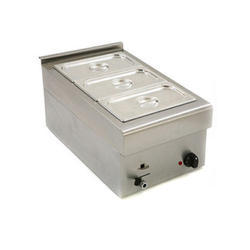 Stainless Steel 3 Bain Marie