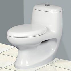 Round One Piece Toilet Seat