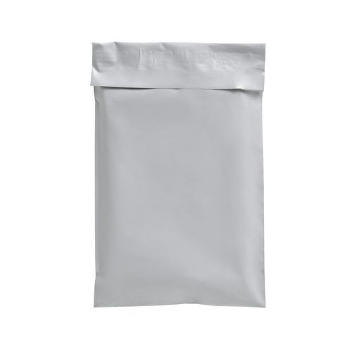 White Plastic Courier Bags
