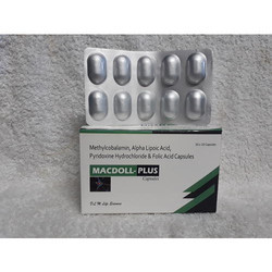 Methy Alpha Lipoic Acid Vit. B 1 Vit B 6 Folic Ad Capsules