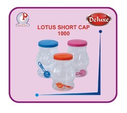 Lotus Short Cap Jar 1000