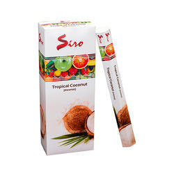 Tropical Coconut Hexa Incense Stick
