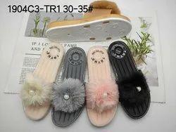 Fancy Flats & Sandals Ladies Flip Flop imported chappals, Size: 36x41