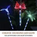6 Stake LED Solar Decorative  Sensor Light