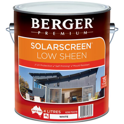Berger Low Sheen Emulsion Premium Paint, Packaging Type: Tin