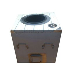 Stainless Steel Square LPG Operate Tandoor, for Commercial