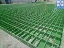 FRP Solar Walkway Grating  25 MM Thk