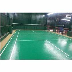 Badminton Court Flooring Service