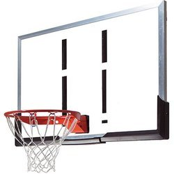 Basketball Board 180 cm X 105 cm x 25 mm with Angle Frame METCO