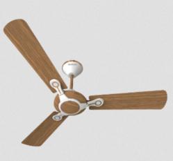 American Walnut 1200 Mm Leganza 3 Blade Decorative Ceiling Fan, Warranty: 2 Year