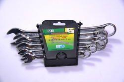 Combination Cold Stamped Spanner Cr-v, (6 Pcs Set) E-2406