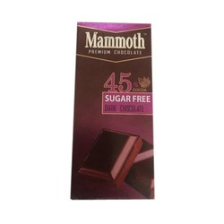 Brown Solid 45% Mammoth Premium Dark Chocolate