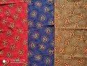 Multicolor Printed Designer Cotton Fabric, For Casual, Gsm: 100-150