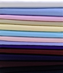 Plain Cotton Satin Shirting Fabric