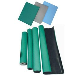 Rubber ESD Mat For Table, Thickness: 2mm