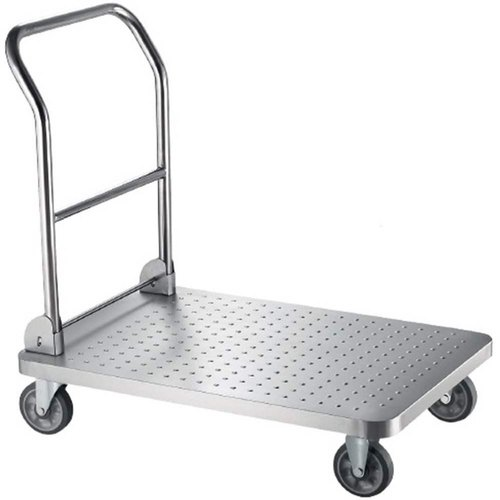 Aluminium Stainless Steel Platform Trolley
