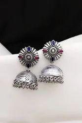 Fancy German Silver Oxidised Jewellery