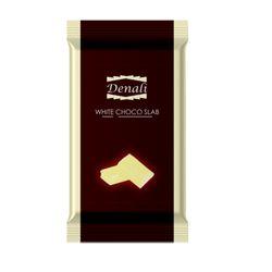 Denali White Chocolate Slab