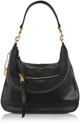 Plain Leather Hobo Bags