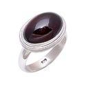 Garnet 925 Sterling Silver Ring