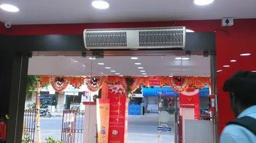 High Velocity Air Curtain
