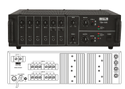 TZA-1500 Two Zone PA Mixer Amplifiers