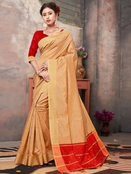 Banglori Silk Weaving  Saree With Blouse Piece,6.3mtr