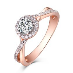 Unisex Engagement And ROSE GOLD JEWELLERY