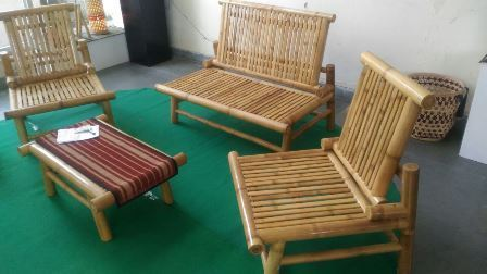 Bamboo Sofa Set Bamboo Furniture At Rs 15500 Set Bamboo Sofa