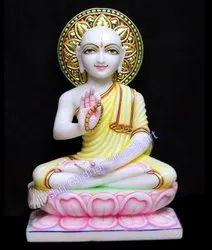 God Mahavir Swami Ji Marble Statue