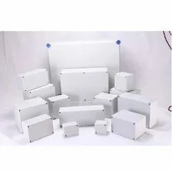 White Square PVC Electrical Box, For Electric Fitting, IP 65