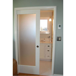 Hinged Decorative PVC Door, Exterior, for Office