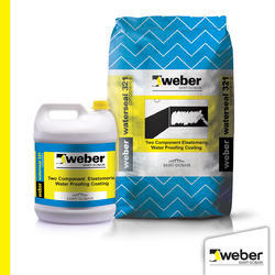 Grey Weber Waterseal 321 Two Component Elastomeric Waterproofing Coating