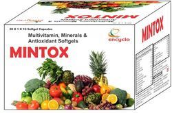 Multivitamin Minerals & Antioxidant Softgels