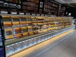 Namkeen Dry Fruits Cookies Display Counter