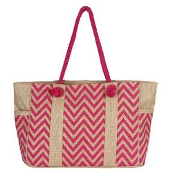 Jute Bag With Soft Handles
