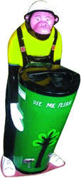 Fibre Medium Dustbin