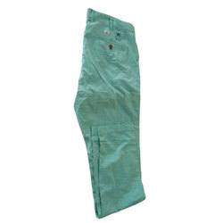 Plain Regular Fit Ladies Cotton Pant, Waist Size: 30.0